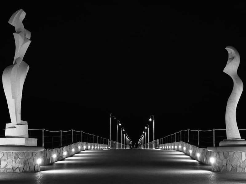 Forte dei Marmi bridge