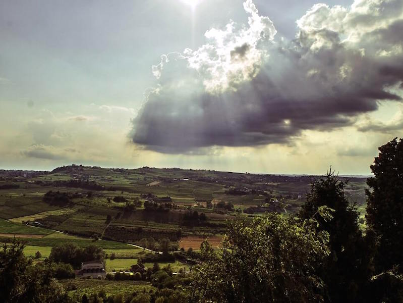 Landscape of Asti