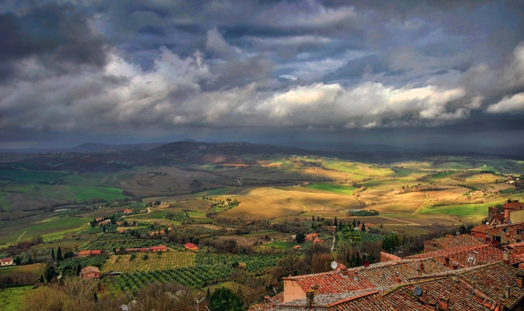Montepulciano hills
