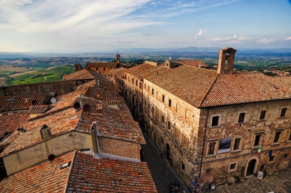 Montepulciano rooftop