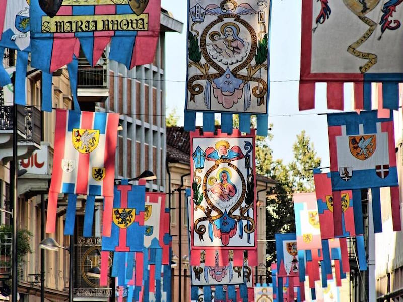 Palio of Asti Flags