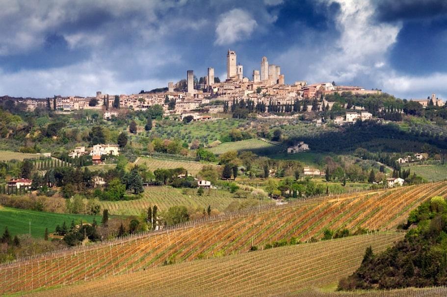 San Gimignano tuscan village