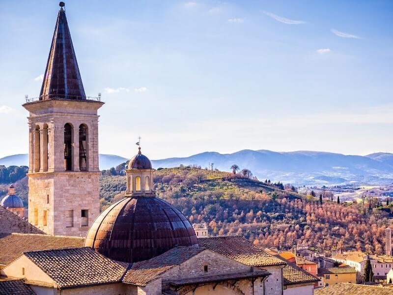Spoleto landscape