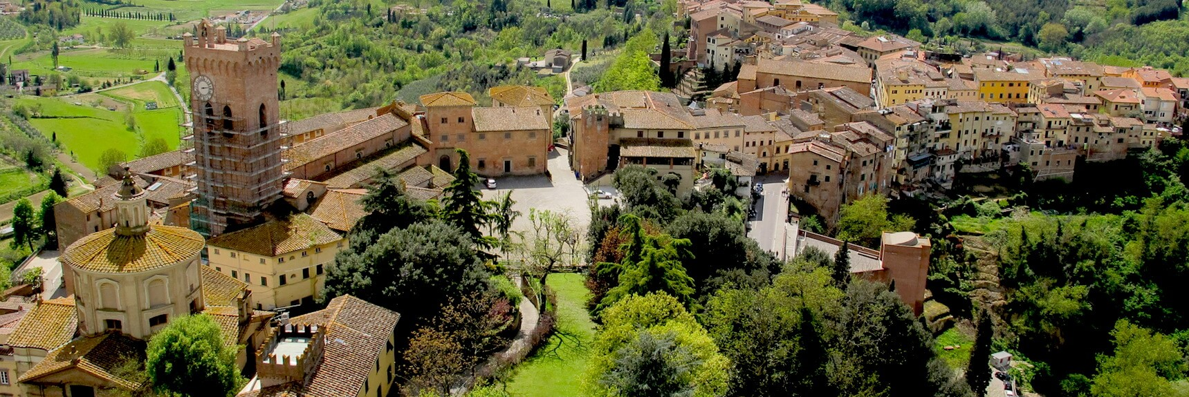 San Miniato Panoramic view Tuscany