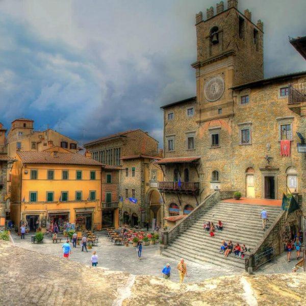 Arezzo city center