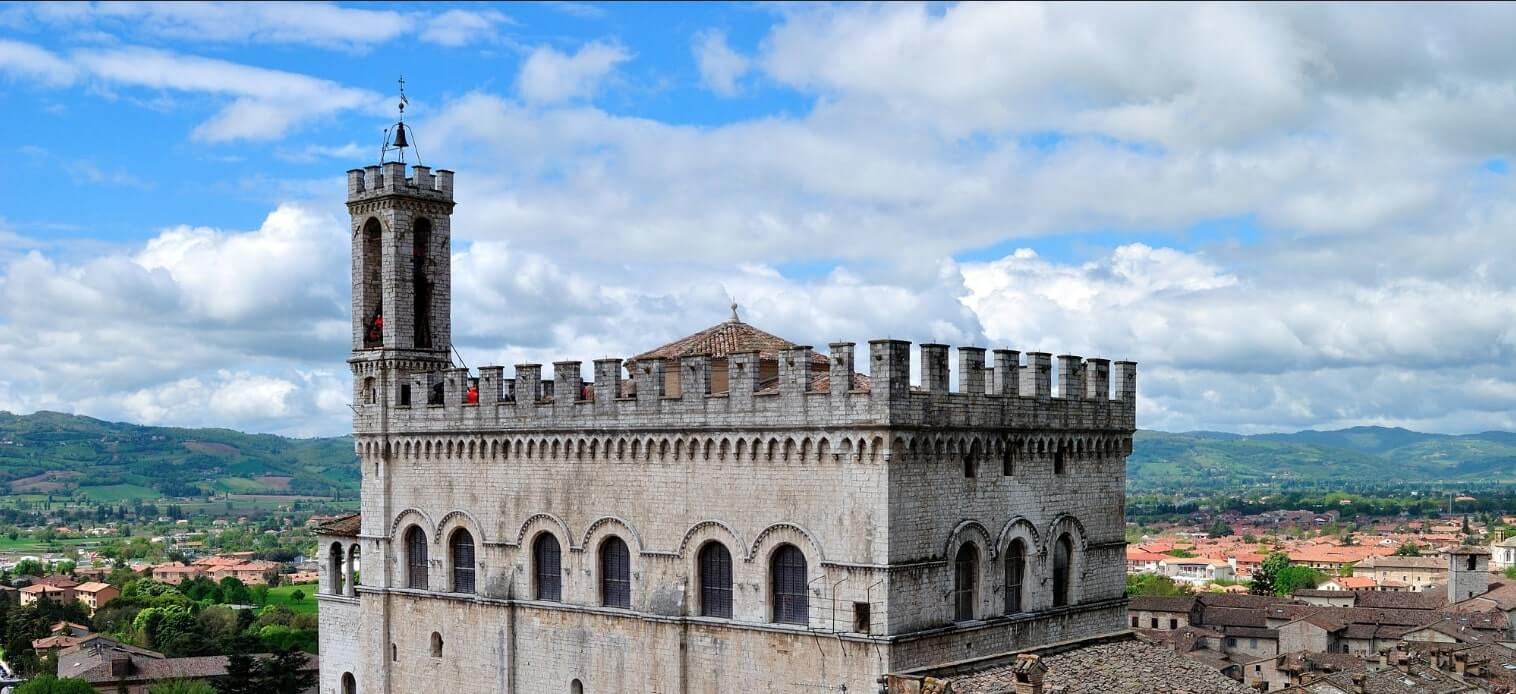 Gubbio Castle view
