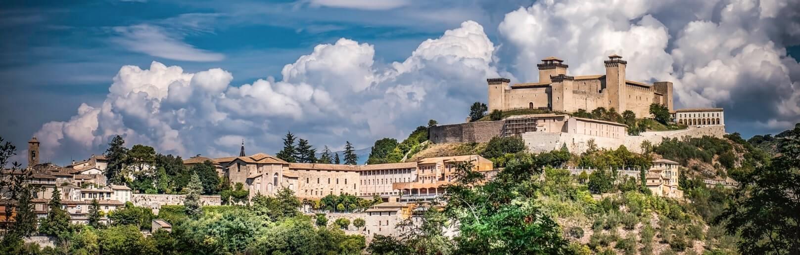 Spoleto city landscape